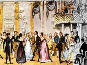 regency christmas ball